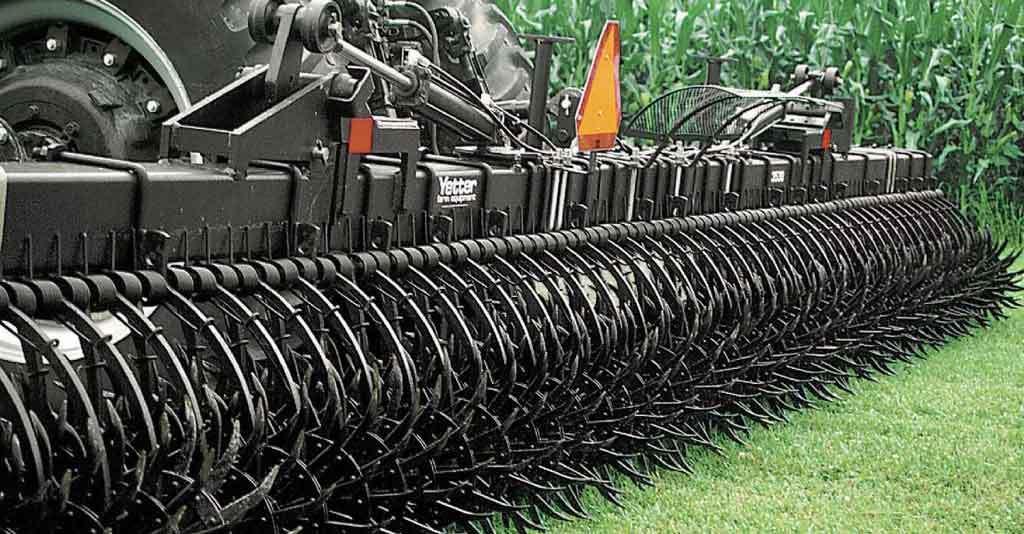 Enxada rotativa - implementos agrícolas