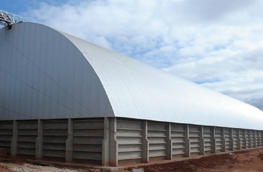 armazenagem de grãos - tipos de silo - Armazéns graneleiros