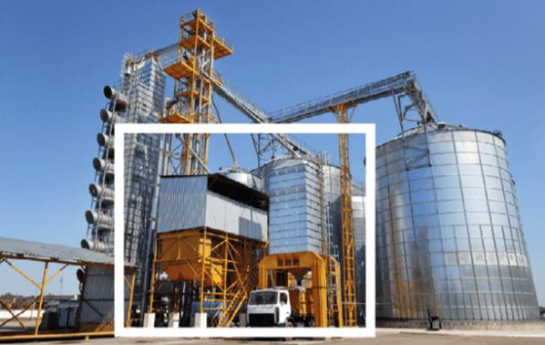 armazenagem de grãos - tipos de silo - silo de expedição