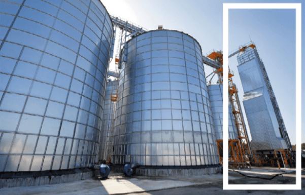 armazenagem de grãos - tipos de silo - silo secador