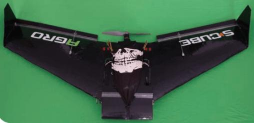 Asa fixa - drones agrícolas