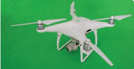 asa rotativa - drones agrícolas