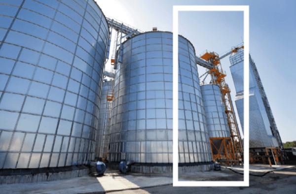 armazenagem de grãos - tipos de silo - silo de espera