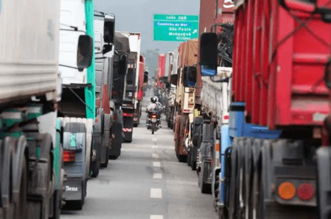logística rural - congestionamento