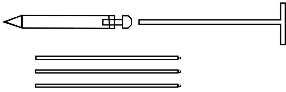 amostragem de grãos - sonda torpedo