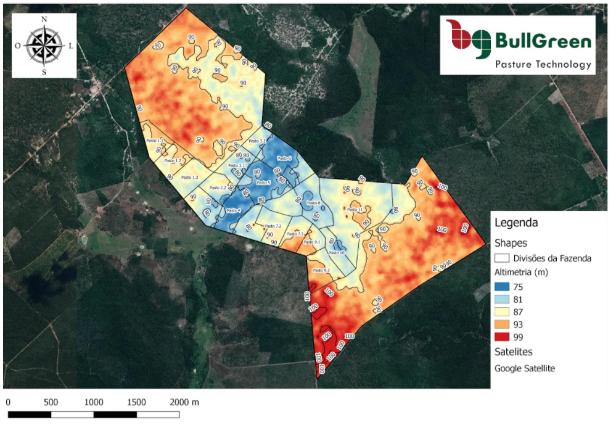 gestão da fazenda - mapas